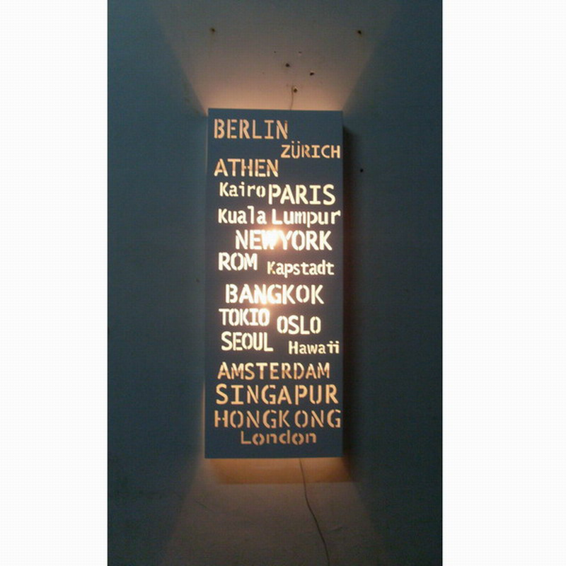 Free Shipping/CE ROHS/modern fashion Look Nordic style of white PARIS Destination Sign Banner Hardware Bus Roll subway transit(China (Mainland))