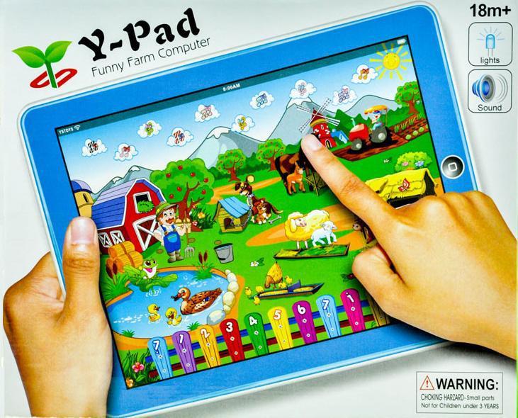 Y-pad Table Farm English Learning Machine/ Y-PAD Farm Educational Toy for Children, School Season Begins Soon!(China (Mainland))