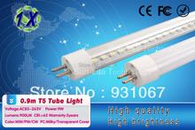 hot sell t5 bar 9w lighting 90cm led tube light 0.9m tubes led lamp ac85-265v the lamps+fedex(China (Mainland))