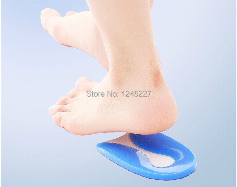 silicon heel pad cup  heel pain relieve comfort soft gel 2014 new free shipping footcare  hot selling<br><br>Aliexpress