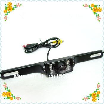 2.4g wireless night vision car rearview camera for car GPS navigation AV-IN ,Waterproof ,shockproof