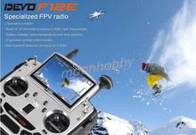 Walkera Devo F12E Specialized FPV 32 Channel Telemetry Radio 5.8Ghz 12 Channel LCD Screen Free Ship