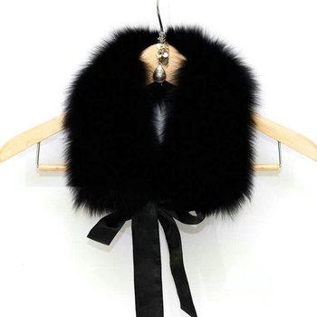Производители , продающие лента лиса воротники пальто воротник