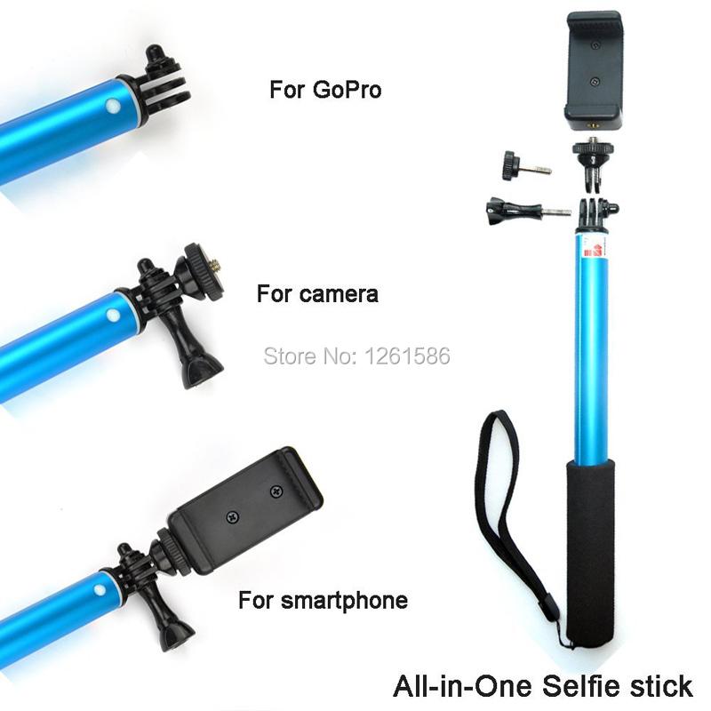 Selfie Stick Extendable Monopod+Tripod+Bluetooth Remote (7)