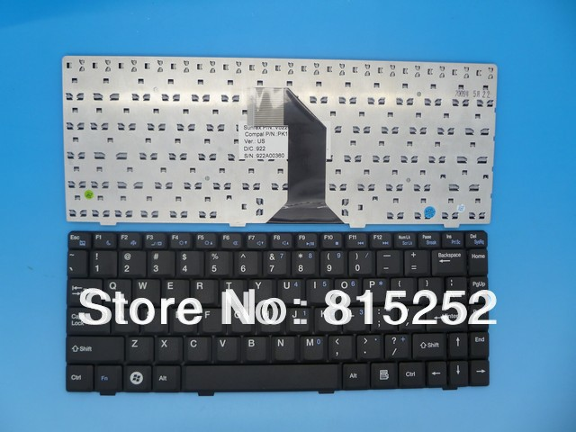 New and Original Laptop Keyboard for Compal NTUC0 Black US United States Version(China (Mainland))
