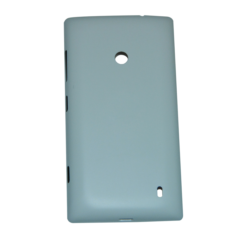 For Nokia Lumia 520 Battery Door Back Cover Housing + Side Button With Logo Replacement Mobile Phone Rear Cover Case 5 Colors