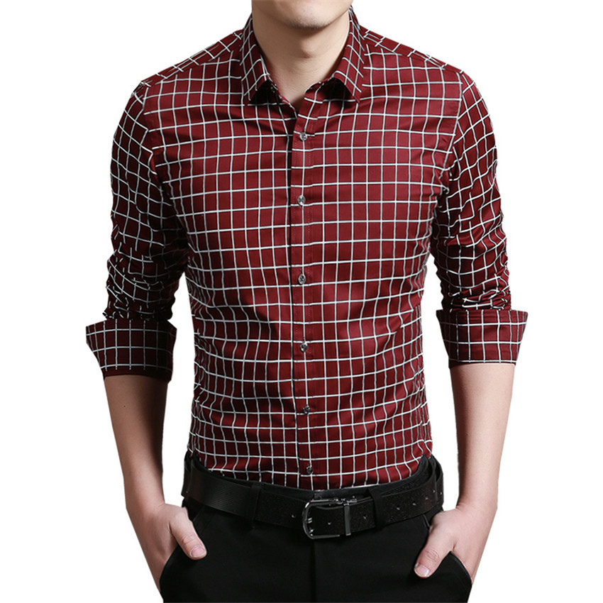 2016 hot sale dress shirt brand men brang clothing slim