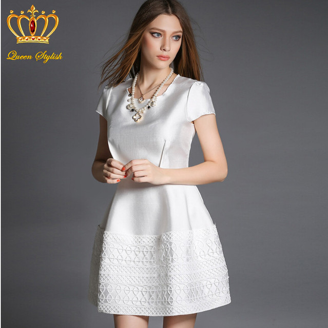 casual white dresses - Gowns and Dress Ideas