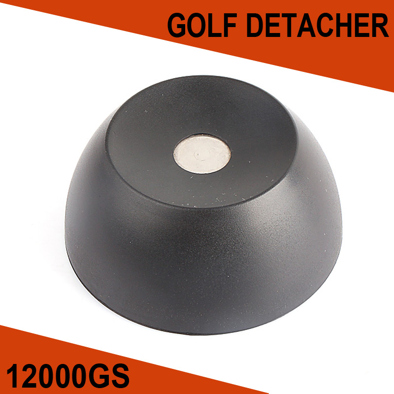 12,000GS Golf Detacher Black Security Tag Detacher Mini Tag Remover EAS System Plastic Housing Use For Supermarket etc(China (Mainland))