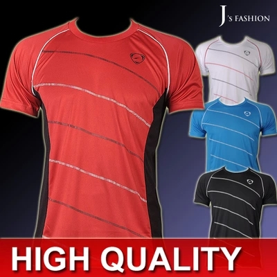 2015 New Arrival SUMMER Sport Fitness Designer Muscle Mens T-shirt Casual Quick Dry Slim Super Light Mens' Sports TShirt Tops(China (Mainland))