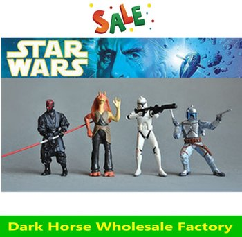 Free Shipping star wars  action figure,4 pcs/lot ,doll