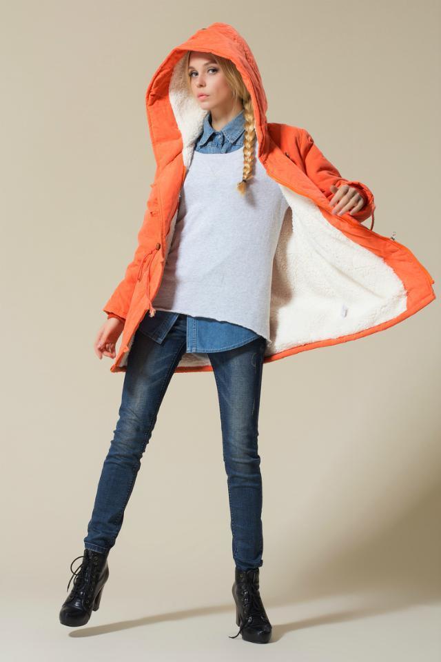 Скидки на Женщины ватные парка Большой размер зима хлопка-ватник хлопок лайнер с капюшоном толстую - длинные куртки и пиджаки Winterjas дам