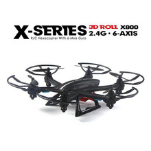 New Arrival MJX X800 2.4G RC drone rc 6-axis can add C4002&C4005 camera(FPV) quadcoptepr