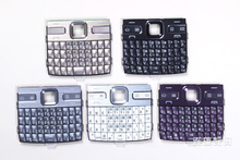 Black/White/Gold/Purple/Gray New 100% Original Housing Cover Case Keypads Keyboards Russian & English & Arabic For Nokia e72(China (Mainland))