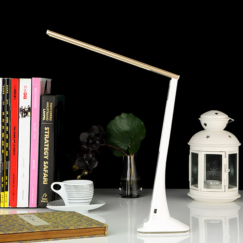 2016 new hot 3 level dimmable LED table lamp with RGB Lampholder LED Bulbs desk lamp with calendar alarm clock LCD show MSL-902(China (Mainland))