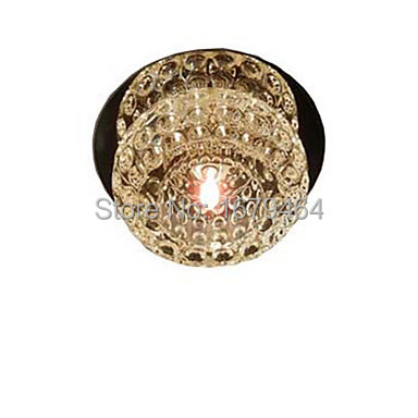 Free Shipping Modern Crystal New Style Ceiling Lamp 1 light G4 20W(China (Mainland))