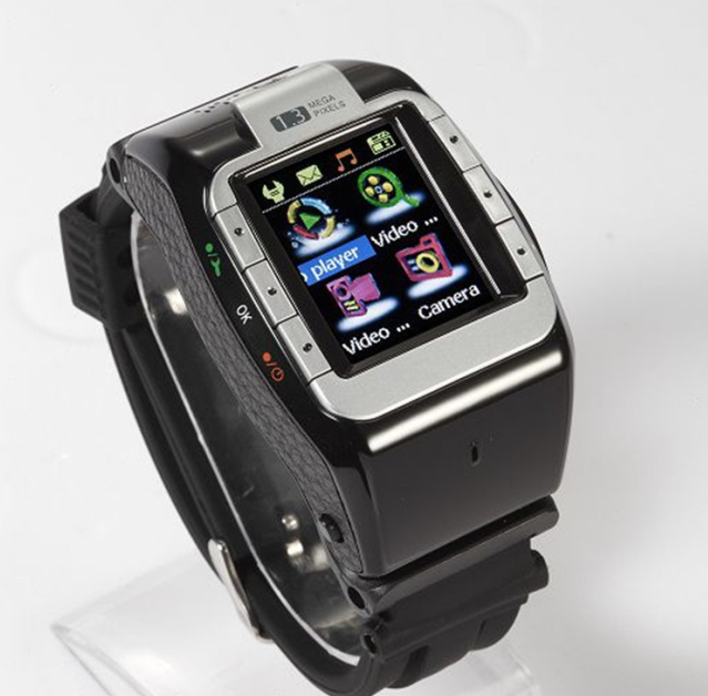 Hot Sell Cool Black N388 Unlocked Touch Screen Smart Watch Phone Stylish 1.4' Cell Phone Watch Mobile MP3/MP4 FM Camera U8 F3(China (Mainland))