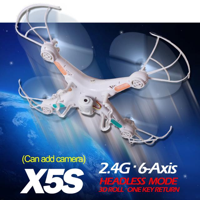 Ts X5S 2.4 г вертолет 4CH Quadcopter радиоуправляемые дрон с / без камеры OneKey возвращение лучше , чем Syma X5C X5-1 X5C-1