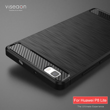 For Huawei P8 Lite Cases New High Quality Soft Silicone TPU Case Back Cover for Huawei P8 Lite fundas phone shell