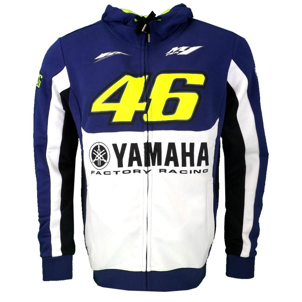 free shipping 2016 NEW Valentino Rossi VR46 M1 Yama Factory Team Moto GP men's Hoodie MOTO GP Motorbike VR 46 Coat