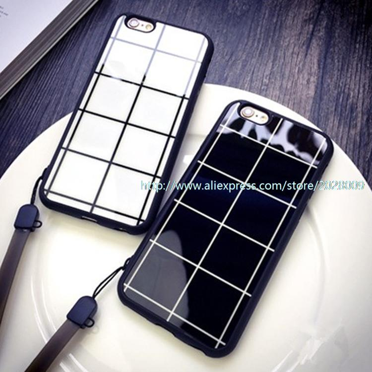50 pcs Case for iphone6 6plus 5 5S 4 7 5 5 5S protective sleeve lanyard