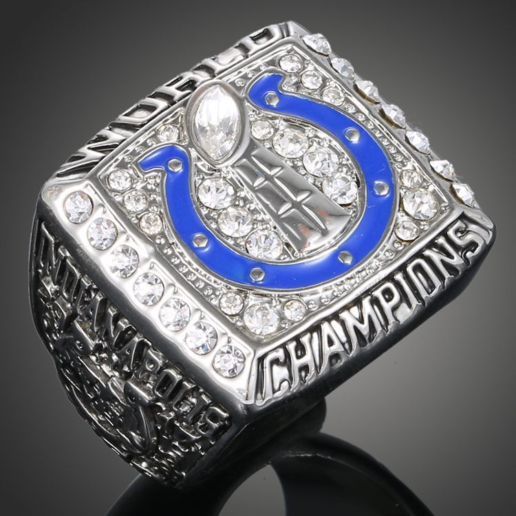 High Custom NFL Fan Collection Ring 2006 Indianapolis Championship Ring(China (Mainland))