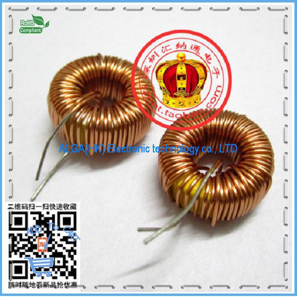 1 Free shipping .Nude inductor 100UH toroidal inductor winding inductance magnetic inductance 5026 100%New original(China (Mainland))