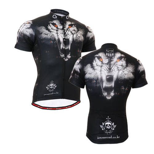 2016 Brand Team Man Cycling Jersey tiger head short Sleeve Jersey Bike Bicycle Clothing For Spring Summer Autumn(China (Mainland))