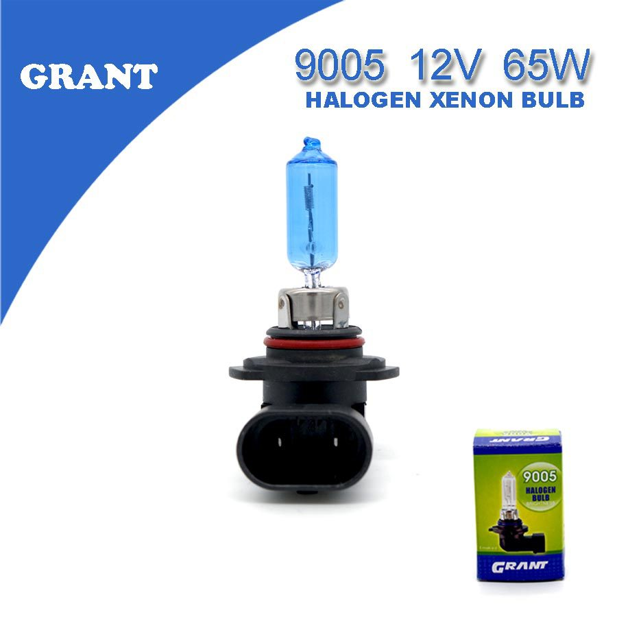 2PCS 2015 GRANT HB3 9005 12V 65W Car Halogen Xenon Bulbs6000K Bright White Automobiles Replacement Lamps Foglights Free Shipping(China (Mainland))