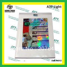 ATT(A3) light color heat transfer paper,T shirts transfer paper,inkjet printing paper-A3(China (Mainland))