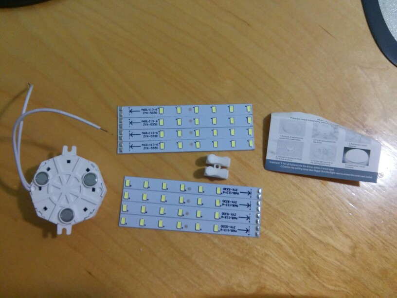 Ceiling Lamps LED Module 12W 16W 20W 24W AC220V 230V 240V LED Light Ceiling Lamp Lighting Source Convenient Installation CE Rosh