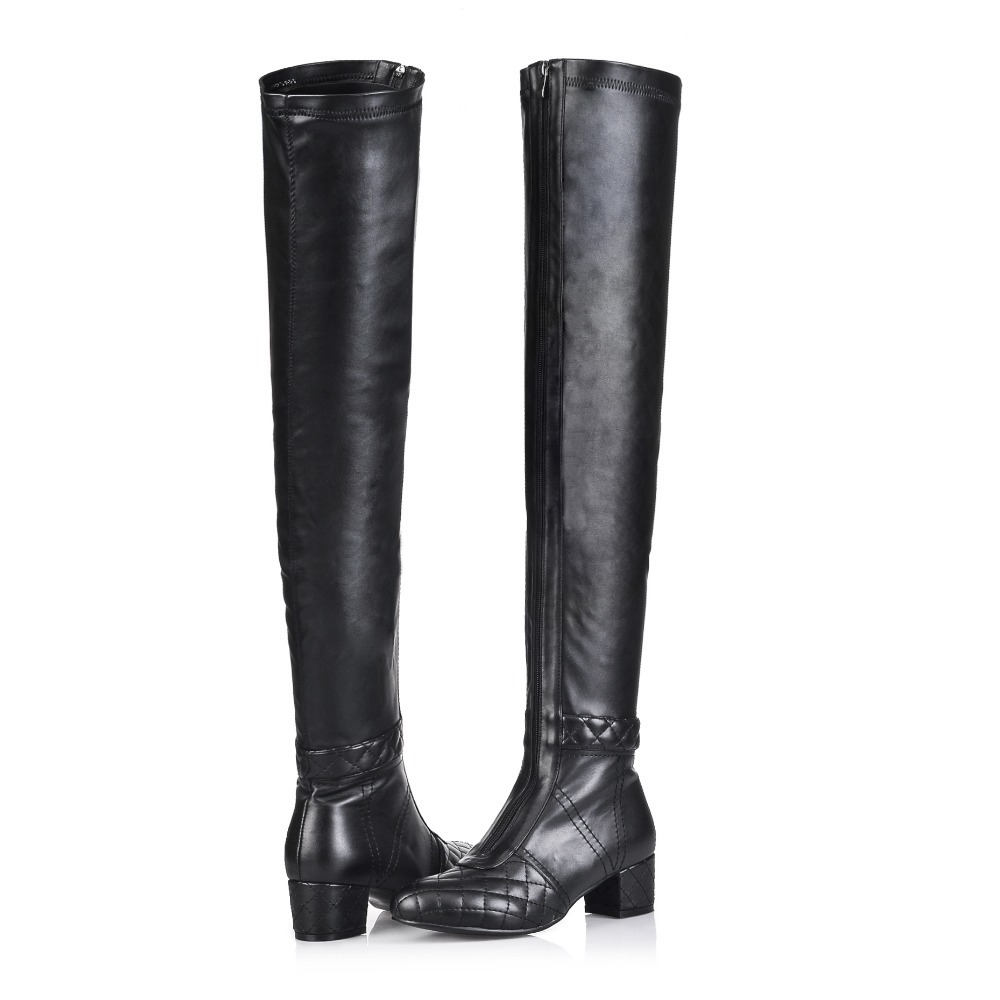 Real Leather Thigh High Boots Coltford Boots