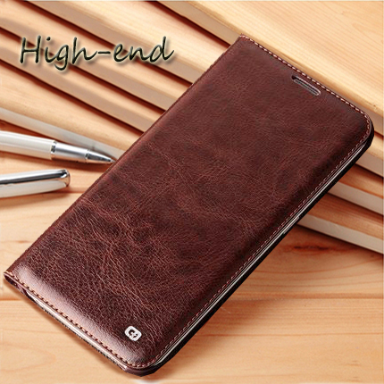 Fashion crazy horse texture wallet phone back cover rfor Sony Xperia M2 Aqua D2403 D2303 D2305 D2306 S50H case flip PU leather()
