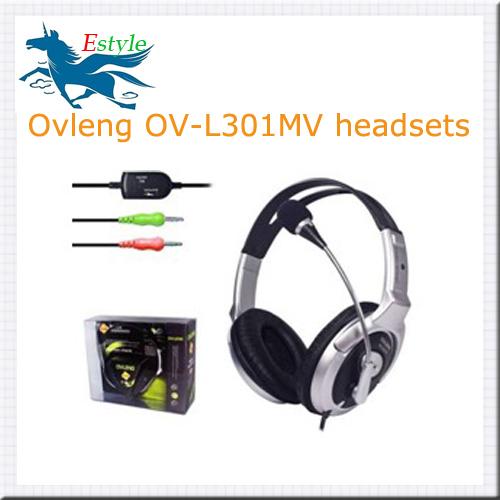 Computer Headphone Microphone & Volume Control noise cancelling headphones earphones headset - Estyle-Aliexpress store