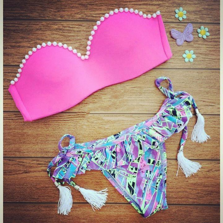 купить Женское бикини Bikini 2015 Bain B26 swimwear по цене 996 рублей