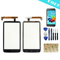 For HTC One X S720e G23 touch screen digitizer Front Panel Outer Glass Digitizer Replacement PartsFilm