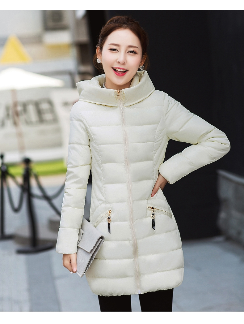 2017 winter new 20-25-30-35 year-old women's down jacket cotton Korean version of the camouflage coat Hooded coat