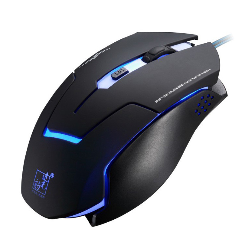 Breathing LED USB 6D Wired Optical Gaming Mouse Mice for Computer PC Laptop for Dota 2 lol Pro Player Oyun Mause Christmas Gifts