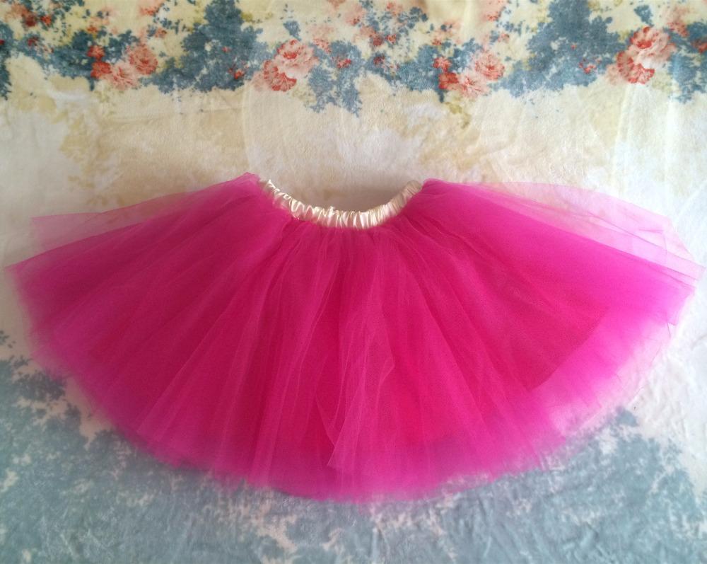 Пушистые юбки девушки взрослого или подростка ярко розовый с желтым поясом мини тюль юбки для ну вечеринку или балета высокая талия складки