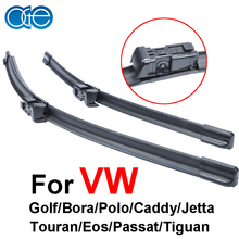 OGE wipers for car prices For VW golf/Bora/Polo/caddy/jetta/Touran/Eos/Passat/Tiguan rubber strip,Car accessories.buttons(China (Mainland))