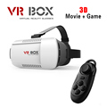 Google Cardboard VR BOX Version VR Virtual Reality 3D Glasses Smart Bluetooth Wireless Remote Control for