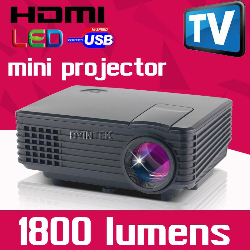 2015 Newest Smallest TV USB AV HDMI VGA LED Digital LCD Video Game Pico Mini Projector projetor Beamer 1080p for pc beamer(China (Mainland))