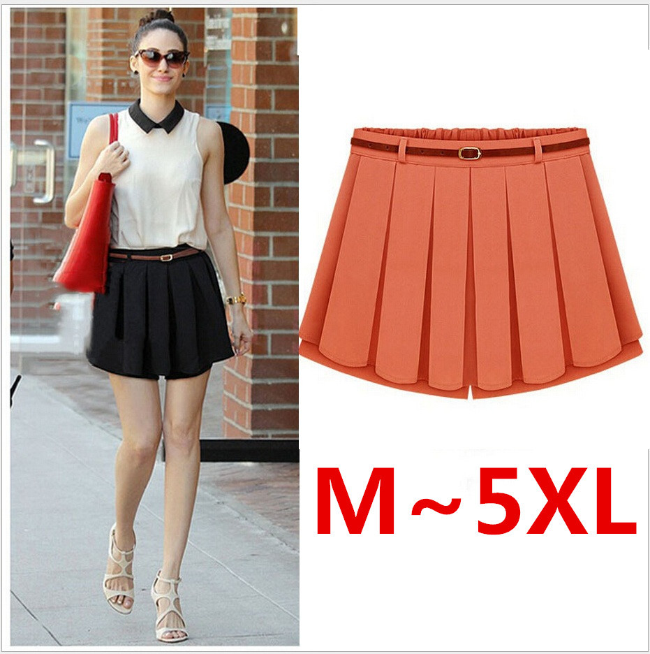 Pleated mini skirt plus size – Modern skirts blog for you