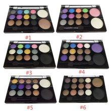 Makeup Eye Shadow Shimmer Natural Naked Eyeshadow Palette Tool Kits Sets LI02