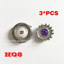 Original New 3 x Replacement Shaver Head for Philips Norelco HQ8  Razor Blade Free Shipping