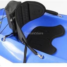 Black Comfort Sit On Top Kayak Canoe Boat Seat Backrest with Back Bag(China (Mainland))