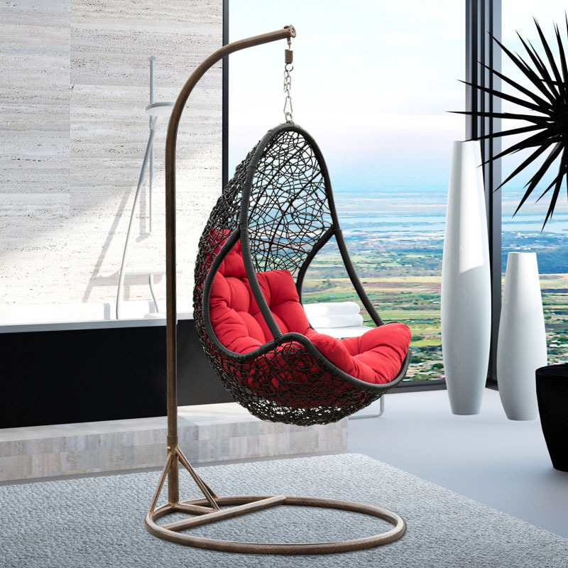 28 Indoor Rattan Hanging Egg Chair Egg Shaped