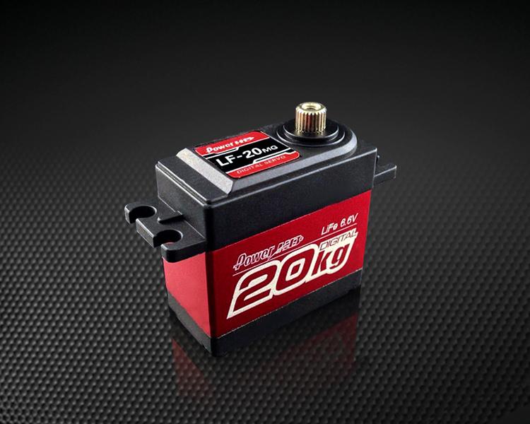 Power HD LF-20MG 20Kg metal gear big torque standards Servo ,Fit Rc Cars, trucks, monster truck,boat, climber car, robots(China (Mainland))