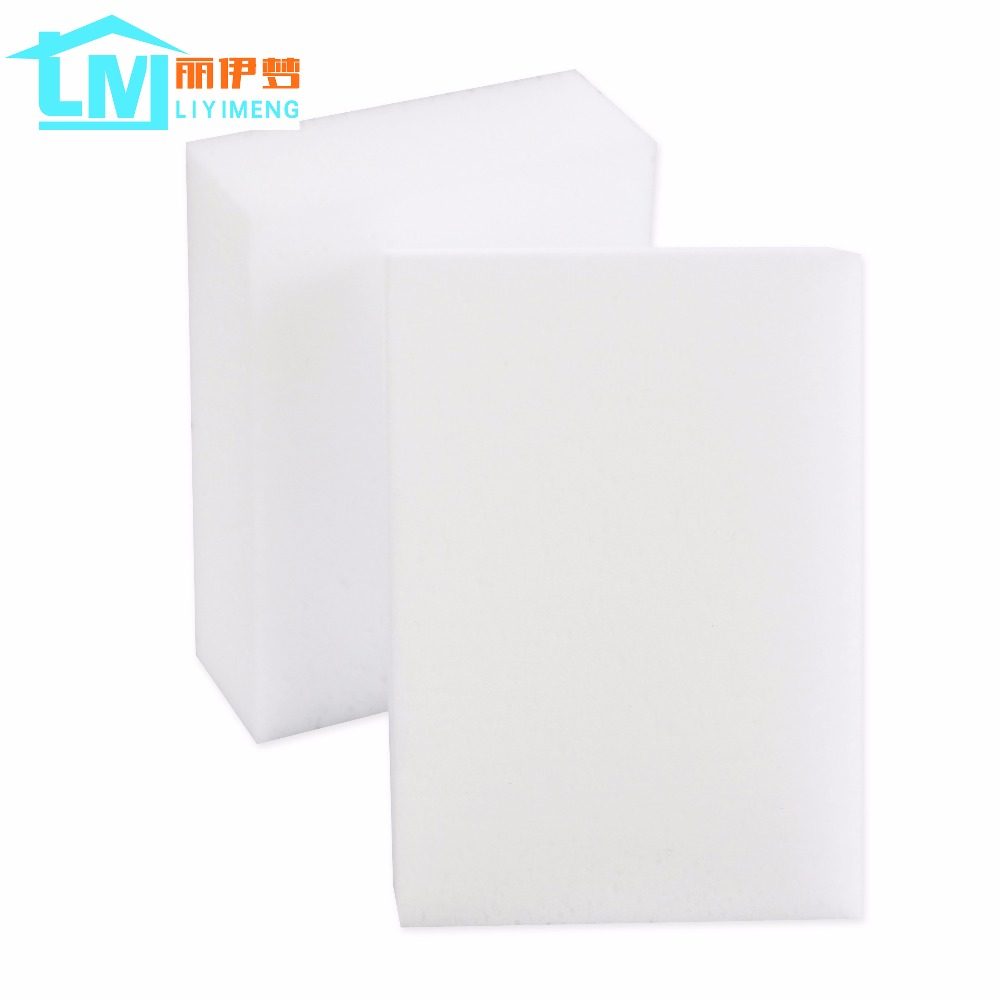 100*70*30mm 100 pcs Magic Sponge Eraser Kitchen Office Bathroom Car Computer Clean Accessory/Dish Cleaning Melamine sponge nano(China (Mainland))