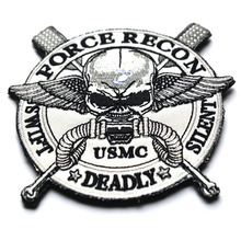 seals exposed paragraph Corps insignia Velcro patch armband custom 3D stereoscopic embroidery military patches badges
